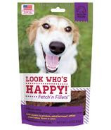 Look Who's Happy Fetch'n Fillets Bison Jerky
