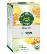 Thé au gingembre biologique TraditionalMedicinals