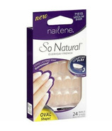 Nailene So Natural Nails Oval Sheer