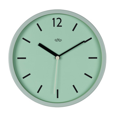 Wild Wood Wall Clock Swedish Green