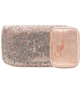 MYTAGALONGS Tech On The Go Rosegold Ear Bud And Charger Case Set