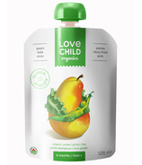 Love Child Organics Pouch Pears, Kale & Peas