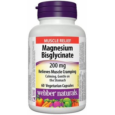 Webber Naturals Magnesium Bisglycinate 200mg