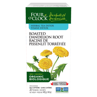 Four O\'Clock Roasted Dandelion Root Herbal Tea