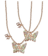 Great Pretenders BFF Butterfly Share & Tear Necklace