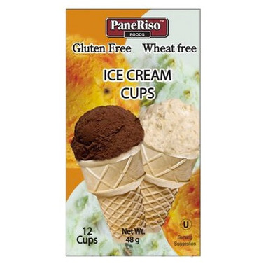 PaneRiso Gluten Free Ice Cream Cups