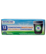 NatureZway Compostable Waste Bags Tall