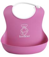 BabyBjorn Soft Bib Pink