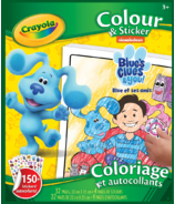 Crayola Blue's Clues and You Colour & Sticker Book