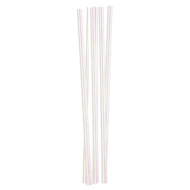 Kikkerland Iridescent Paper Straws