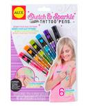 Alex Sketch & Sparkle Tattoo Pens