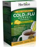 Herbion Cold & Flu Lemon Flavour