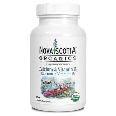 Nova Scotia Organics Calcium + Vitamin D3
