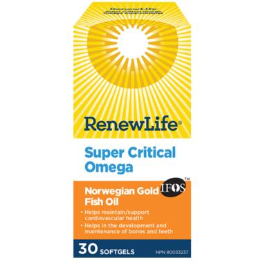 Renew Life Norwegian Gold Super Critical Omega