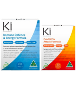 Martin & Pleasance Ki Cold & Flu + Immune Defense Bundle