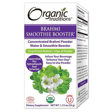 Organic Traditions Brahmi Smoothie Booster