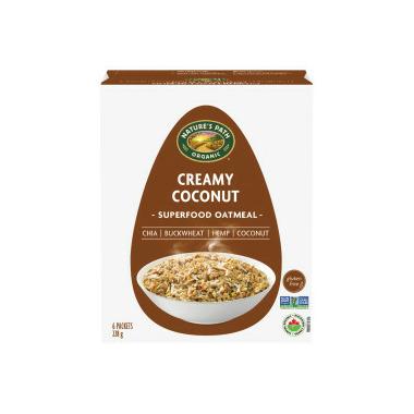 Nature\'s Path Qi\'a Gluten Free Oatmeal Creamy Coconut