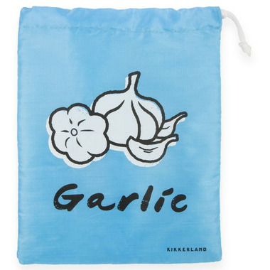 Kikkerland Stay Fresh Garlic Bag