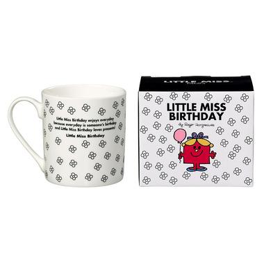 Mr. Men & Little Miss Little Miss Birthday Mug