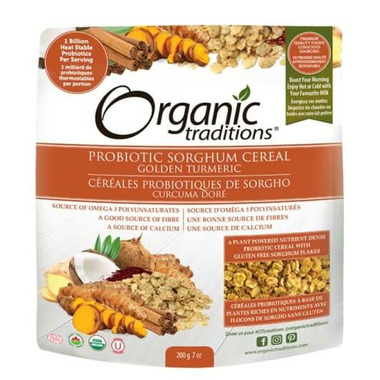 Organic Traditions Probiotic Cereal Golden Turmeric