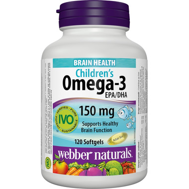 Webber Naturals Omega-3 Kids Softgels