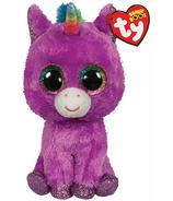 Ty Beanie Boo's Rosette The Purple Unicorn Regular