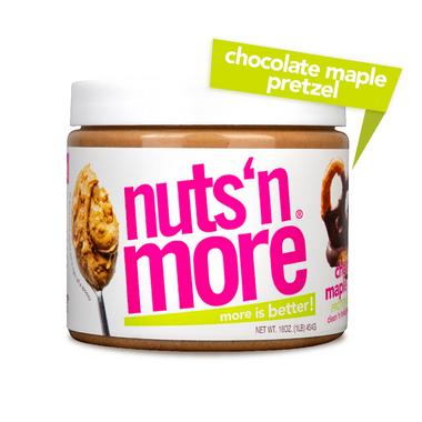 Nuts n More Chocolate Maple Pretzel Protein Peanut Spread