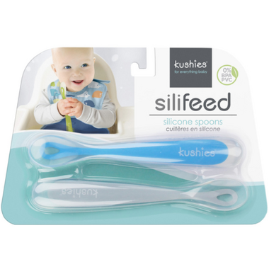 Kushies SiliFeed Spoon Set