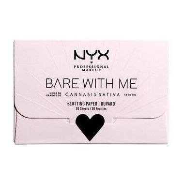 NYX Bare With Me Hemp Seed Oil Blotting Paper