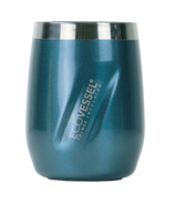 Eco Vessel PORT TriMax Insulated Stainless Steel Wine Tumbler Blue Moon