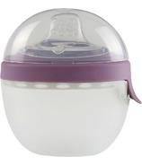 Kidsme 2-in-1 Silicone Oval Feeding System Plum