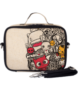 SoYoung x Pixopop Raw Linen Pishi and Friends Lunch Box