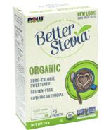 Sachets d'extrait biologique de Stevia NOW Better