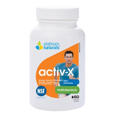 Platinum Naturals Multivitamin Activ-X for Active Men