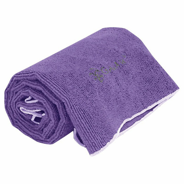 Gaiam Thirsty Yoga Hand Towel Deep Purple