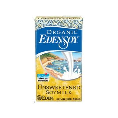 Eden Foods Edensoy Organic Unsweetened Soymilk