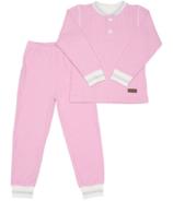 Juddlies Organic Cottage Pajamas Sunset Pink