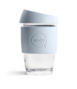 JOCO Glass Reusable Cup Vintage Blue