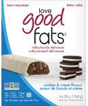 Love Good Fats Cookies & Cream Snack Bar