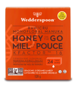 Wedderspoon Raw Manuka Honey On The Go K Factor 16