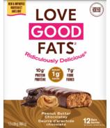 Love Good Fats Peanut Butter Chocolate Bar Case