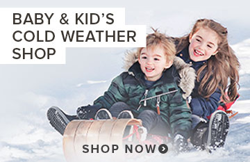 Shop Baby & Kid's Cold Weather Shop