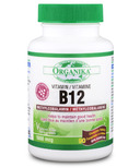 Organika Bio-Active Vitamin B-12 Methylcobalamin
