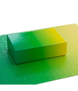 Areaware Bryce Wilners Gradient Puzzle Green/Yellow