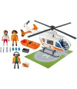 Playmobil City Life hélicoptère de sauvetage