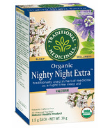 Traditional Medicinals Organic Nighty Night Extra Valerian Tea