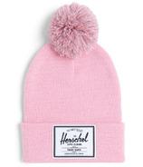 Herschel Supply Abbott Youth Pom Beanie Candy Pink