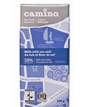 Camino Milk with Sea Salt Chocolate Bar