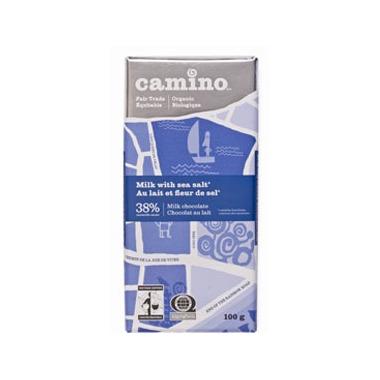 Camino Milk with Sea Salt Chocolate Bar