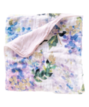 Loulou Lollipop 4 Layer Muslin Quilt Swaddle Blanket Hydrangea